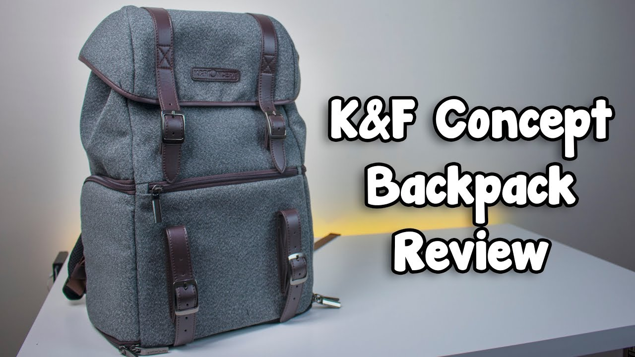 K F Concept Waterproof Multi Function Dslr Camera Backpack Review