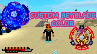 ROBLOX- BEYBLADE HOW TO CHANGE COLORS