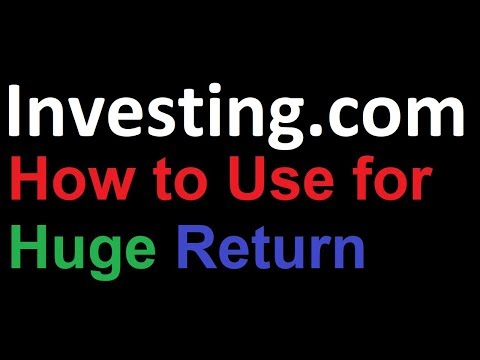 How to Use Investing.com for Technical Analysis