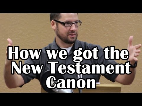 How We Got the New Testament: Evidence for the Bible pt12