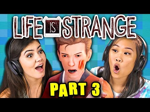 PARKING LOT FIGHT! | LIFE IS STRANGE - Part 3 (React: Gaming)
