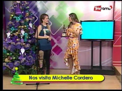Nos visita Michelle Cordero