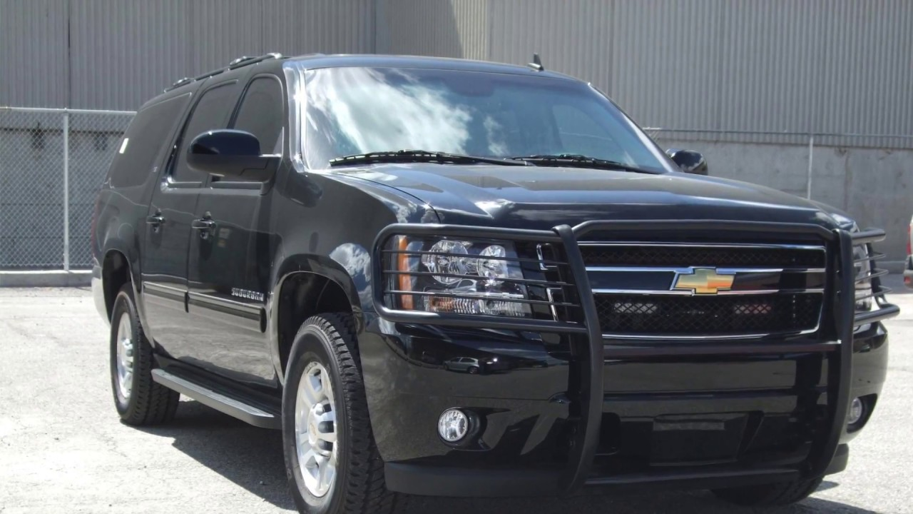 INKAS® Armored Chevrolet Suburban LT - YouTube