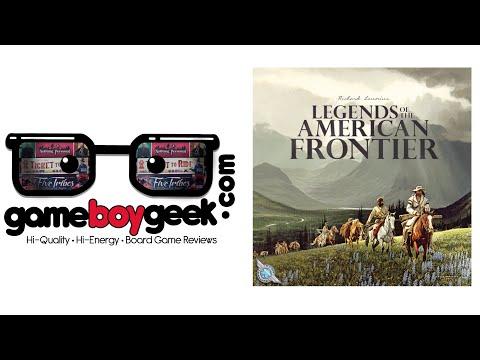 Legends of the American Frontier Game Boy Geek