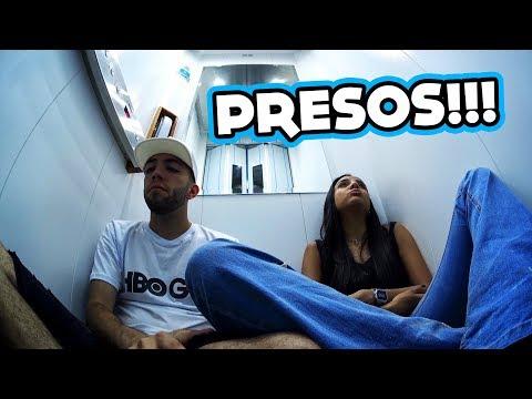FICAMOS 6 HORAS PRESOS NO ELEVADOR!!