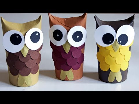 Crafts With Toilet Paper Rolls And Paper Towel Rolls