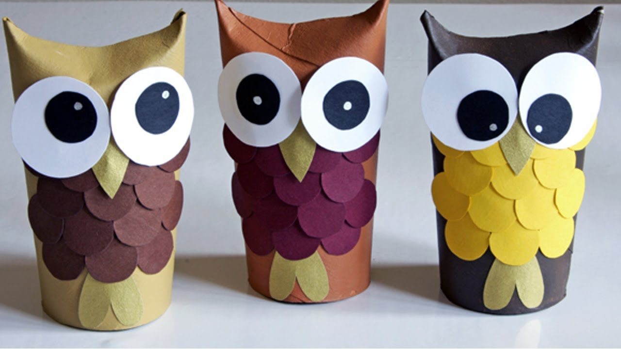 arts and craft ideas for halloween crafts with toilet paper rolls and paper towel rolls 7426