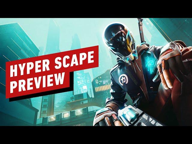 Hyper Scape Preview