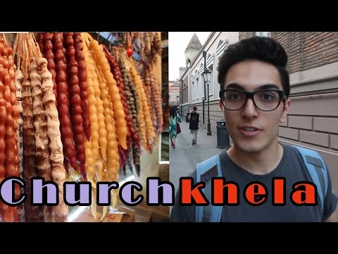 Churchkhela? FREE Walking Tour in TBILISI, Georgia