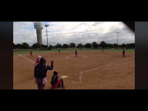 Scarlett Poore Home Run to left