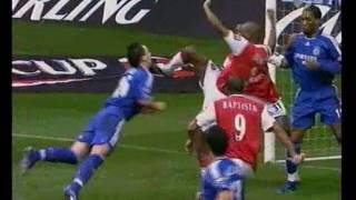 Chelsea - Arsenal. League Cup-2006/07. Final (2-1)