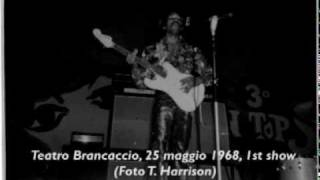 Jimi Hendrix - Manic Depression (Rome May 25th 1968, 1st Show)