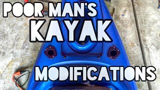 Poor Man's Kayak Modifications(Cheap Menards kayak fishing modifications installation. If you like the Fish On! logo and would like to purchase Fish On! merchandise please use this link ..., 2015-04-26T16:36:53.000Z)