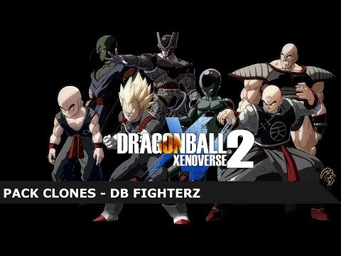 DRAGON BALL XENOVERSE 2 MOD: PACK CLONES DB FIGHTERZ