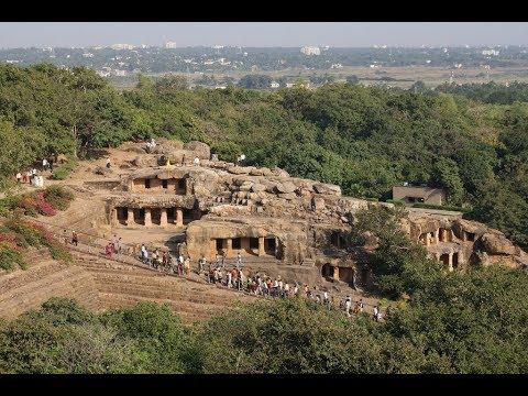 Udayagiri and Khandagiri Caves Bhubaneswar, Odisha .