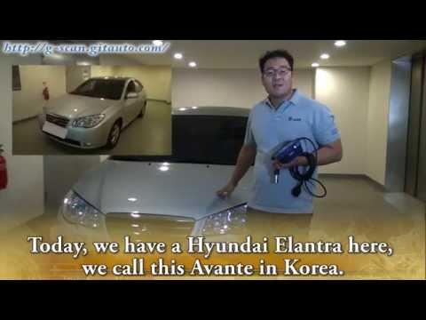 G-scan Hyundai Elantra Immobilizer coding HD 2007