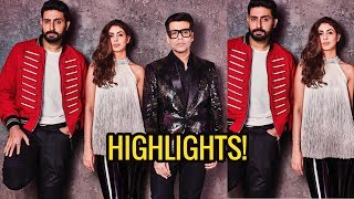 Koffee with Karan 6 Highlights   Abhishek Bachchan and Shweta Nanda's witty sibling rivalry