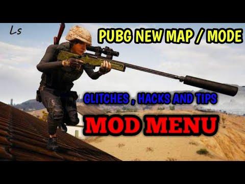 PUBG NEW MAP  HACKS AND TIPS | PUBG HACK | MOD MENU | SNIPER TRAINING GAMEPLAY