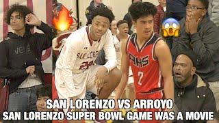 San Lorenzo Bowl | Arroyo vs San Lorenzo | Kids LEAVE IT ALL ON THE COURT | Ft. N. Echalas & D. Hill