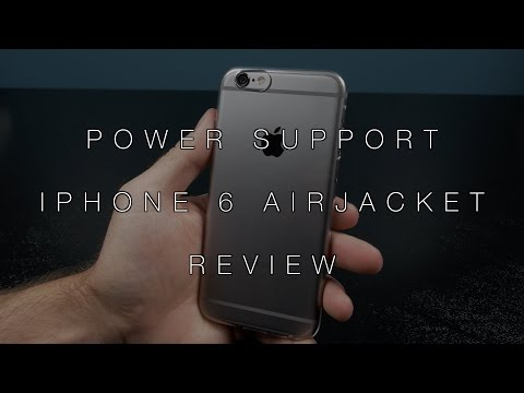 PowerSupport Air Jacket for the iPhone 6 Review!