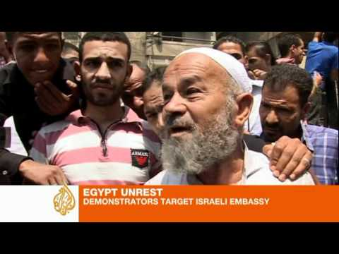 Cairo tense after Israeli embassy attack