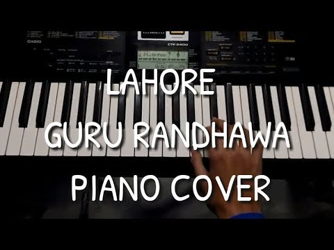 Lahore    Guru Randhawa    Piano Cover