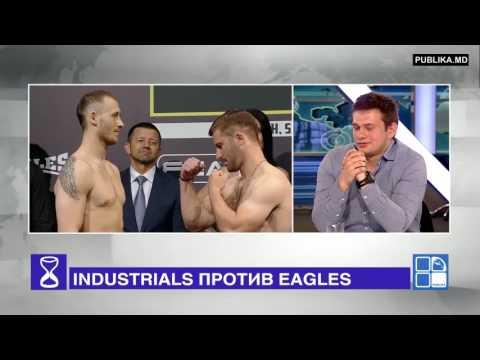 Дорин Дамир и представители INDUSTRIALS на ток шоу ДЕНЬ ЗА ДНЁМ  -  Publika TV.