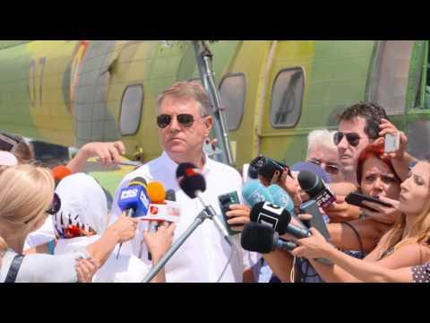 """STIRIPESURSE.RO Klaus Iohannis, declaraţii la Centrul Administrativ ''Mihail Kogălniceanu"""""""