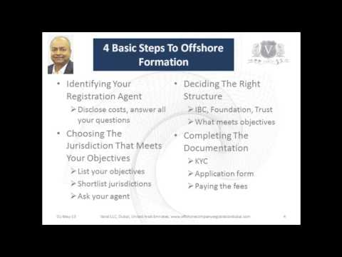 Offshore Formation Dubai | Protect Your Wealth In 4 Simple & Easy Steps