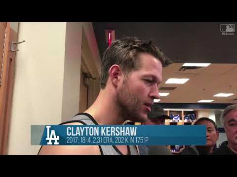 Clayton Kershaw Spring Training Interview | Discusses Yu Darvish Leaving