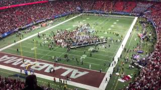 Alabama wins the 2016 SEC Championship!!! Post Game action!!! Roll Tide