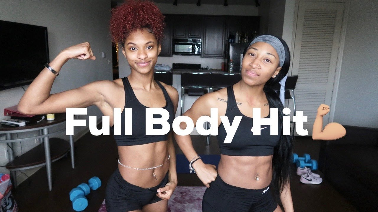 Full Body Hit Workout With Weights