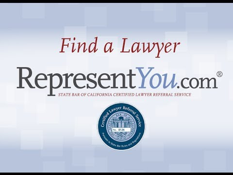 If you have been injured on your motorcycle in California we may be able to help find an attorney to represent you. RepresentYou.com is a California State Bar Certified Lawyer...