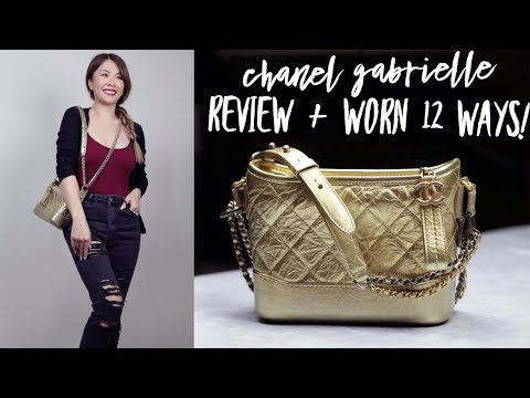 CHANEL GABRIELLE BAG REVIEW | 12 WAYS TO WEAR IT | WHAT FITS | PROS & CONS