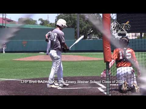 LHP Brett BAZARSKY The Emery Weiner School Class of 2021