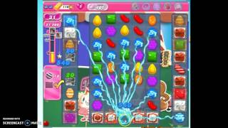 Candy Crush Level 405 w/audio tips, hints, tricks