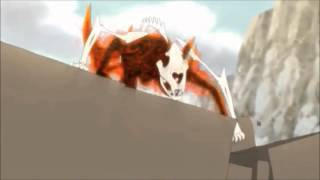 Naruto Shippuden-Naruto nine tails cloak unleashed vs Pain AMV-Monster