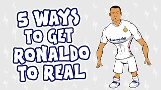 How Cristiano Ronaldo can SIGN for Real Madrid this summer!