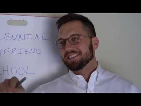 Jordan and Kristie - VIRAL VIDEO: Millennial Boyfriend School