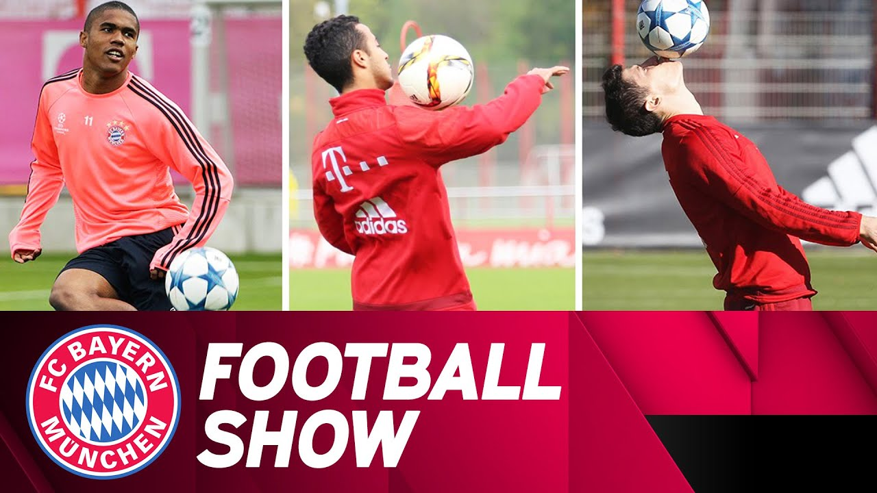 Robert Lewandowski, Thiago Alcantara and Douglas Costa are so much better at football than you