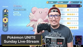 Pokémon UNITE on Nintendo Switch, Sunday Live-Stream