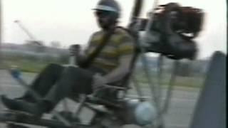 Самодельный автожир в Йошкар-Оле, 90-е годы