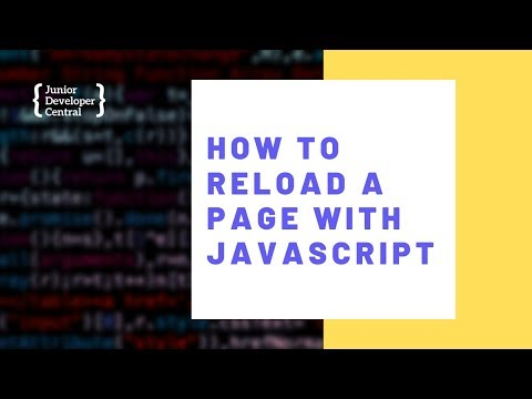 How To Refresh/Reload A Page With JavaScript thumbnail