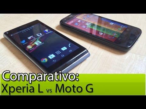 Comparativo: Moto G vs Xperia L | Tudocelular.com