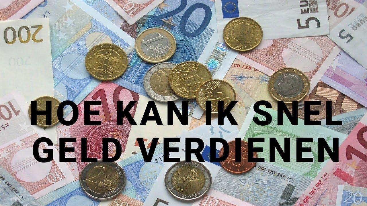Snel geld verdienen online