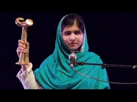 Malala Yousafzai wins Sakharov prize