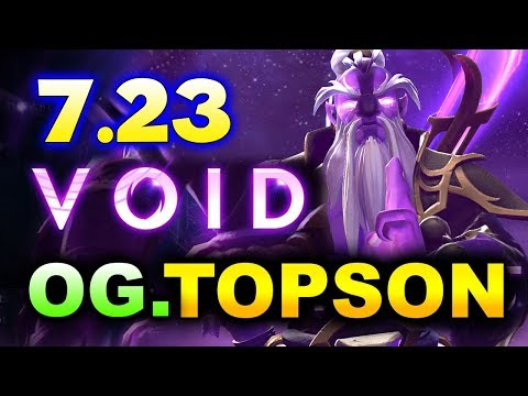 VOID SPIRIT GAMEPLAY By OG.TOPSON - 7.23 PATCH OUTLANDERS DOTA 2