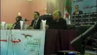 د بلعيد رئيس جبهة المستقبل يدعو أهل غرداية لمعالجة كل القضايا المطروحة