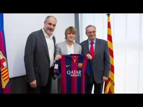 Alen halilovic new player of barcelona 2014    Goals, Skills & Passes