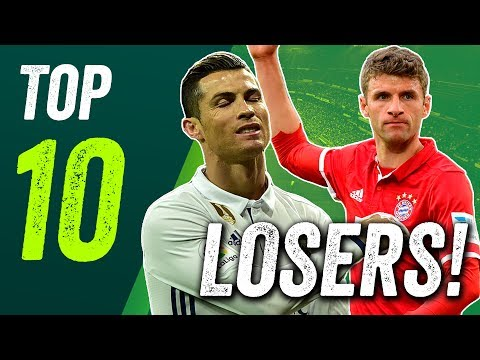 Transfer value losers! Ronaldo, Müller and more!